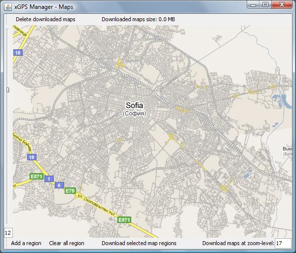 xgps-map-manager