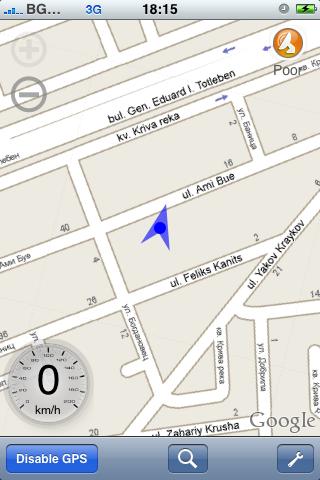 xgps-sofia-map